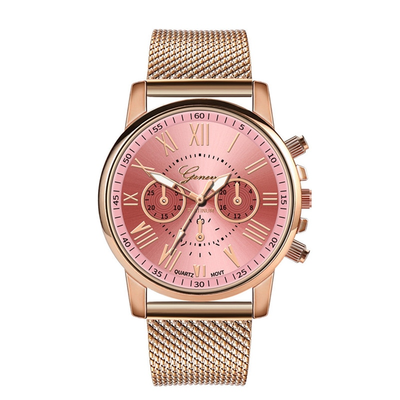 Geneva Ladies Watches Luxury Analog Quartz Wristwatch Fashion Casual Women Watches Bayan Kol Saati R