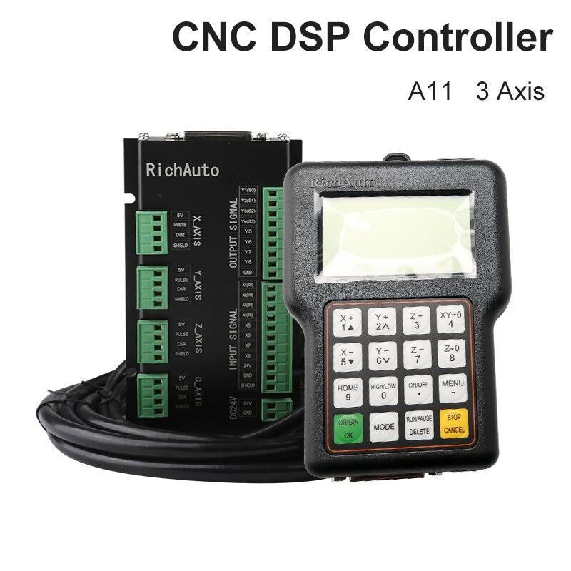ريتشأوتو DSP A11 نك تحكم 3 محور الحركة مقبض تحكم عن بعد التحكم عن ل نك راوتر النقش وقطع