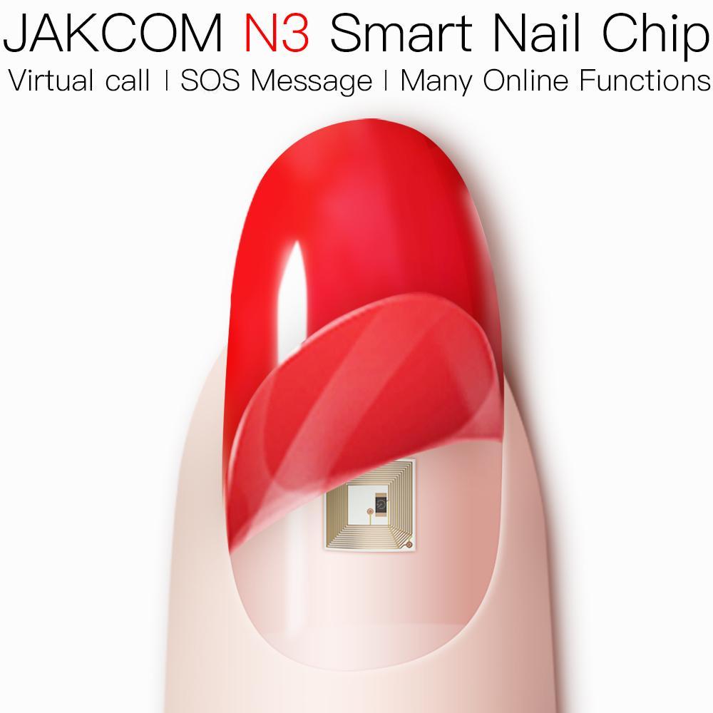 JAKCOM N3 Smart Nail Chip Best gift with woman watch smarthwatch 3g wan iot lot animal crossing solar controller board 4k uid