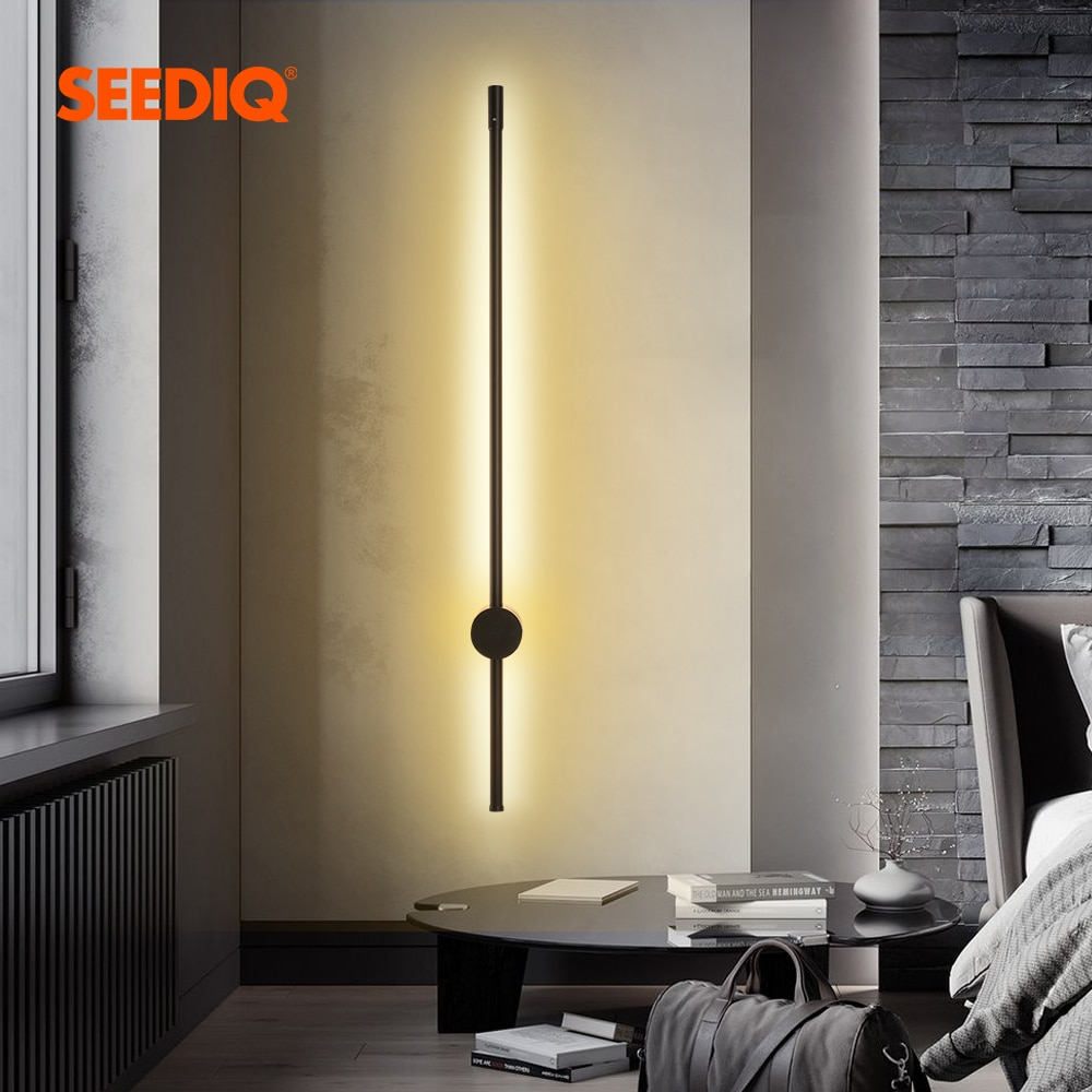 Led Wall Lamp Long Wall Light Decor For Home Bedroom Living Room Surface mounted Sofa background Wal