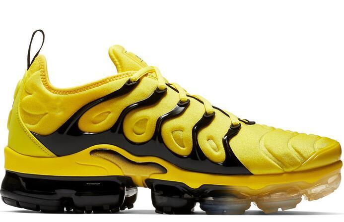 Zapatos de hombre 2019 TN Plus zapatillas de correr para hombre Royal Colorways Oliva en blanco metálico negro entrenador deporte zapatillas de talla grande 46