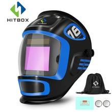 Hitbox Lashelm Auto Verduistering Verstelbare Masker Grote View Digitale Professionele Oogbescherming Kwaliteit Lashelm