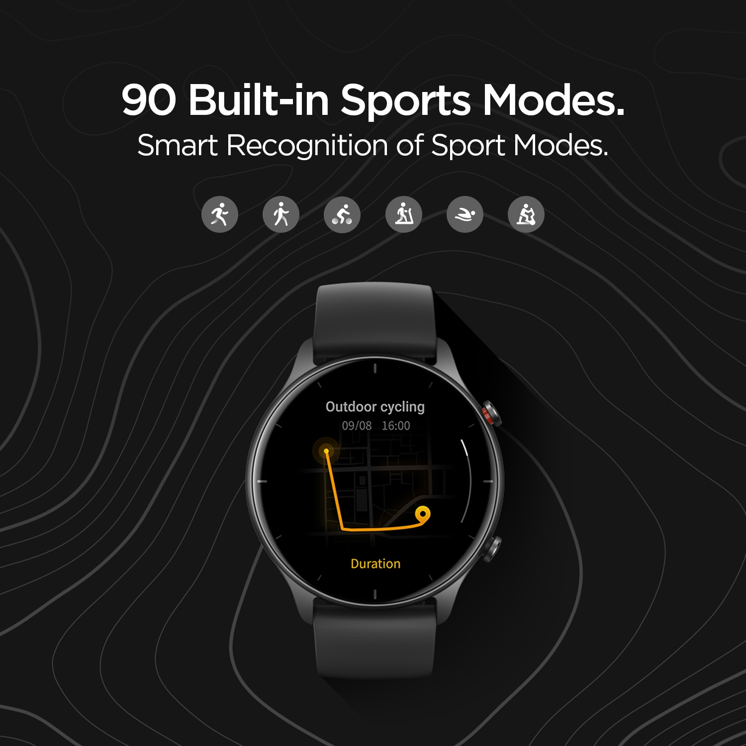 Review 2021 Global Version Amazfit GTR 2e Smartwatch 24 Days Battery Life 2.5 D Glass 90 Sports Modes Alarms Bluetooth 5.0 Smart Watch