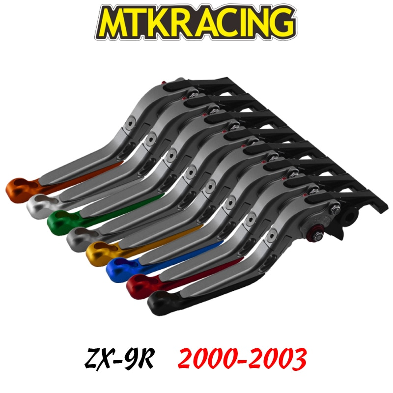 Тормозной рычаг сцепления для мотоцикла Kawasaki ZX-9R 00-03 zx9r 2000 2001 2002 2003 ZX 9R CNC