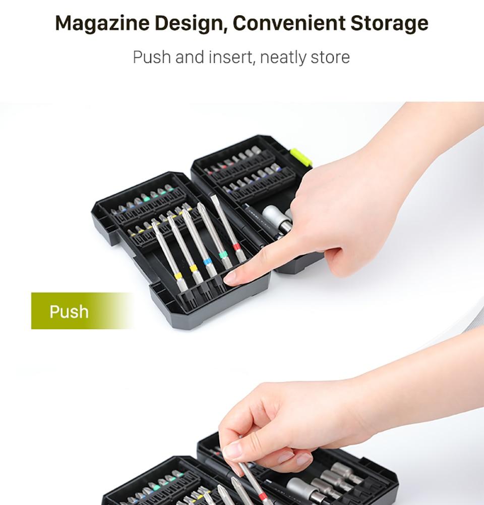 Worx Drill Bits Set  magazine Deign