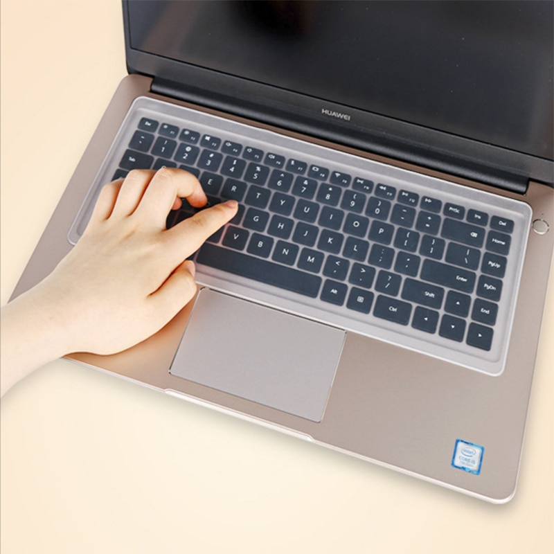 Универсальная защитная пленка для клавиатуры ноутбука, водонепроницаемый чехол для клавиатуры от 10 до 17 дюймов, прозрачный защитный чехол, ...