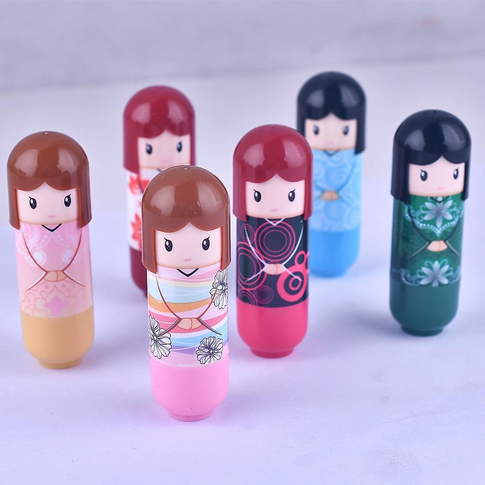 Hallon, lindo bálsamo labial para bebé Hengfang, planta hidratante de labios, bálsamo labial antigrietas