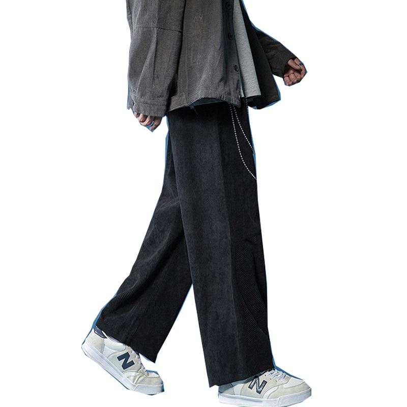 الربيع سراويل تقليدية الرجال السراويل اليابانية سروال قصير الرجعية موضة السراويل فضفاضة مرونة الخصر مستقيم الرجال السراويل الرياضية