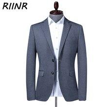 Riinr New Spring Autumn Brand Men Blazer Fashion Slim Suit Jacket Male Business Casual Clothing High Quality Men's Suit M-4XL