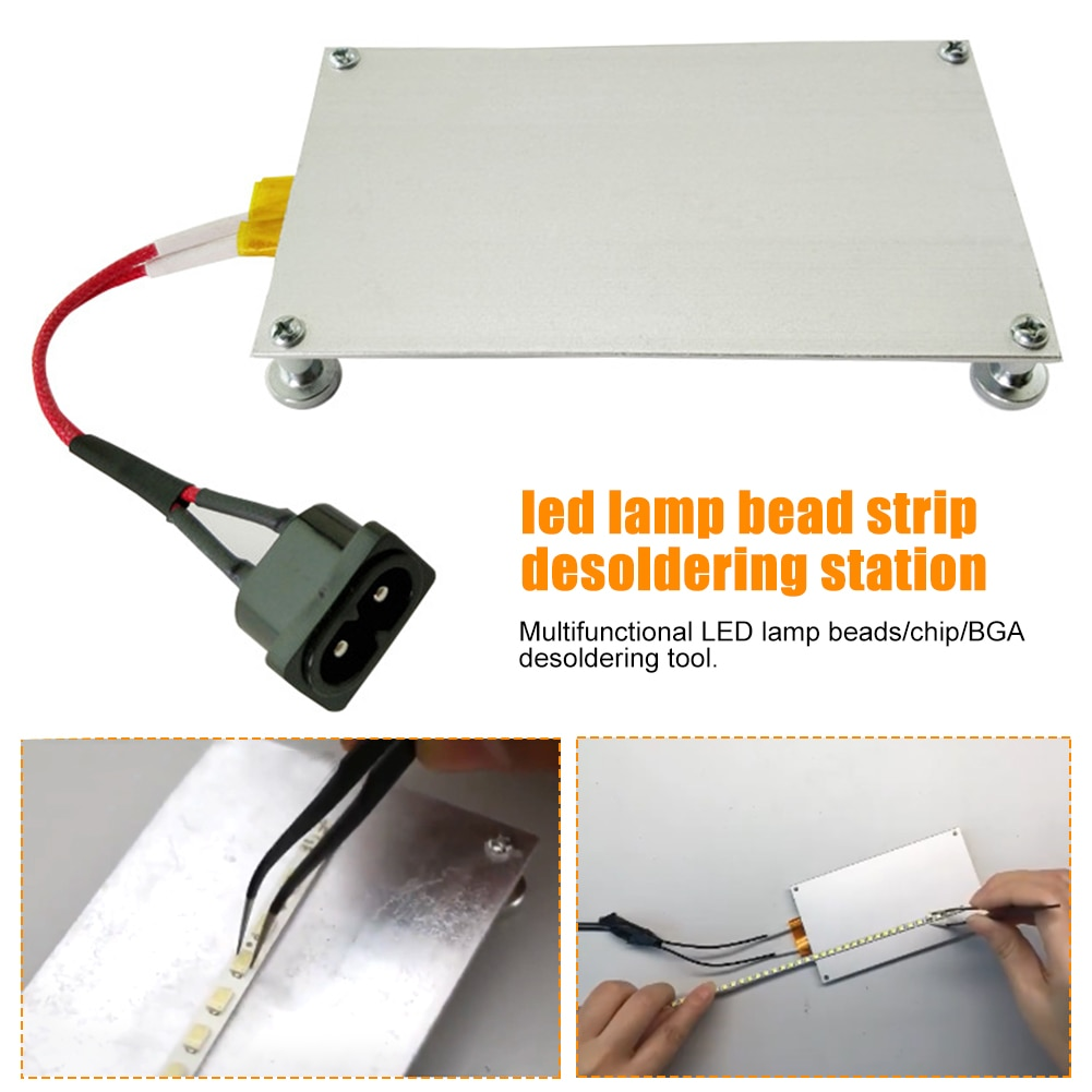 Repair BGA Chip Multifunctional 550W Tool Fever Plate Heating LED Lamp Bead Desoldering Station Quick Thermostat Preheating