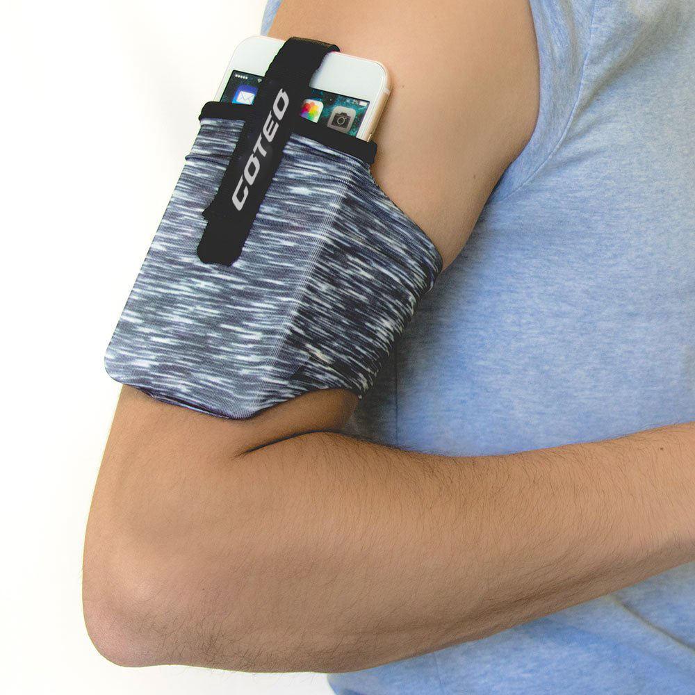 الهاتف الذكي حامل الأكياس الخلوية الركض تجريب اللياقة البدنية تشغيل شارة ذراع هاتف محمول حقيبة