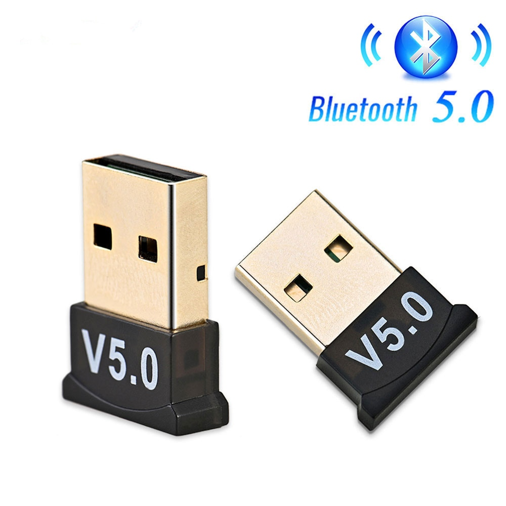 USB Bluetooth 5.0 Adapter Transmitter Bluetooth Receiver Audio Bluetooth Dongle Wireless USB Adapter for Computer PC Laptop c