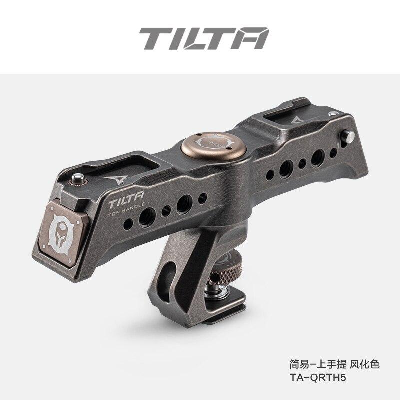 TILTA TA-QRTH5 تدوير مقبض علوي الإفراج السريع مقبض علوي شنق قبضة ل BMPCC 4K 6K 5D KOMODO A7S3 S5 قفص