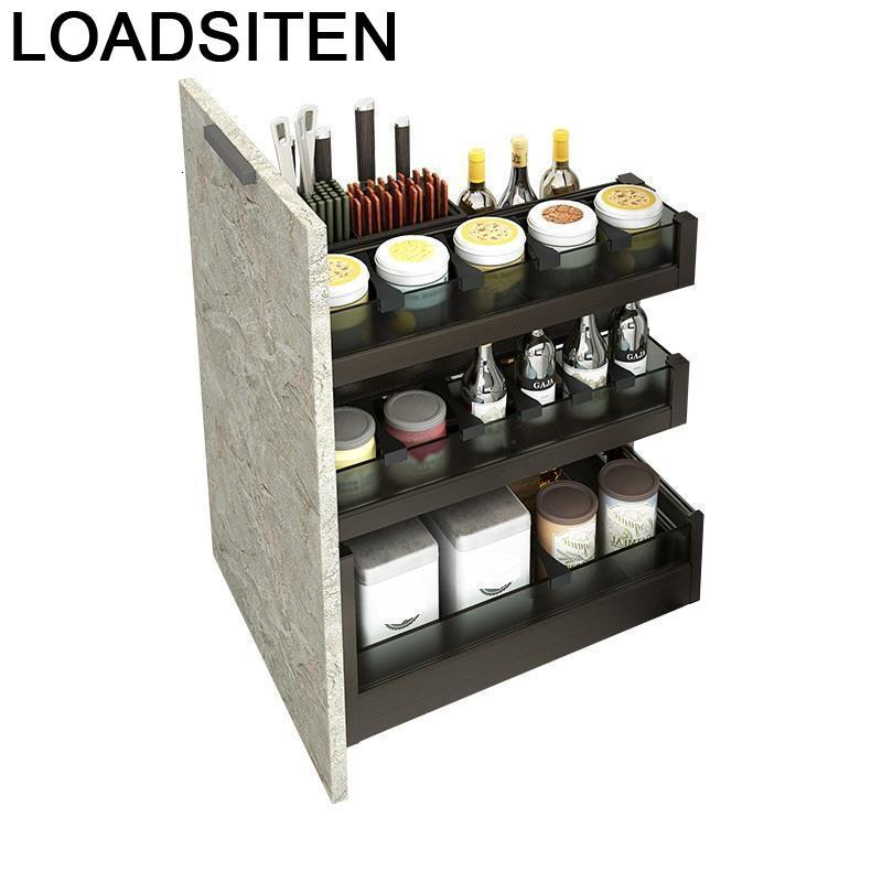 Organizador Armario Cocina Keuken Cestas Corredera Accessories Organizer Kuchnia Cozinha Rack Cuisine Kitchen Cabinet Basket