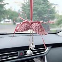 car perfume car angel wings car pendant car decoration water bell angel wings car fragrance