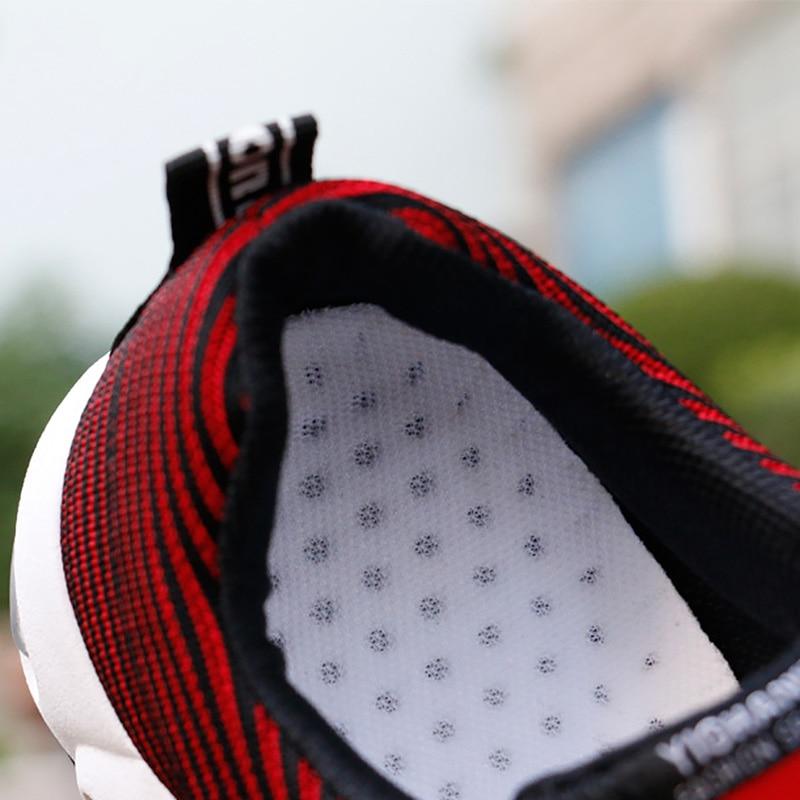 Baskets vulcanisées pour hommes, chaussures d'été à la mode, en maille respirante, grande taille, erf56, 2019