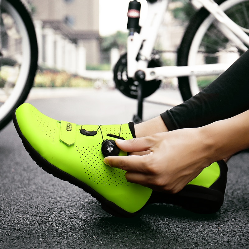 Road Cycling Shoes sapatilha ciclismo Pro Non-Locking men Sneakers women Bike Triathlon Bicycle Riding Athletic bike shoes
