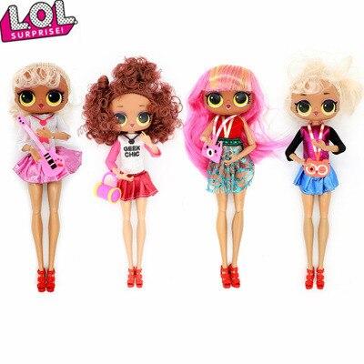 De moda edición LOL sorpresa Omg botín L O L Sorpresa de O.M.G Muñeca de juguete, accesorios para niños, novia, muñeca de regalo para niños