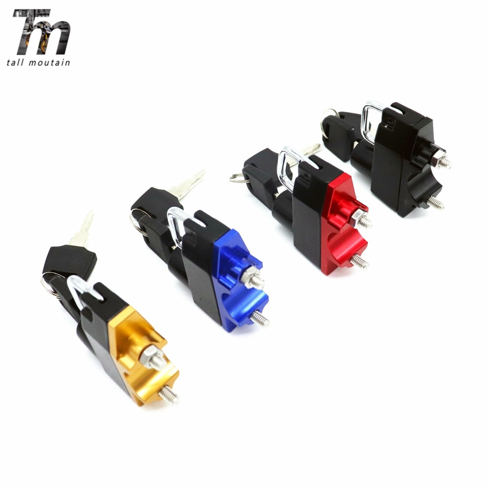 For HONDA CB 600F/CB900F/CB 1000R/CB1100/CB 1300/CB400SF Motorcycle Accessories Anti-theft Helmet Lock Security