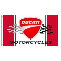 3x5 ft ducati motorcycle flag polyester printed flags and banners for decor