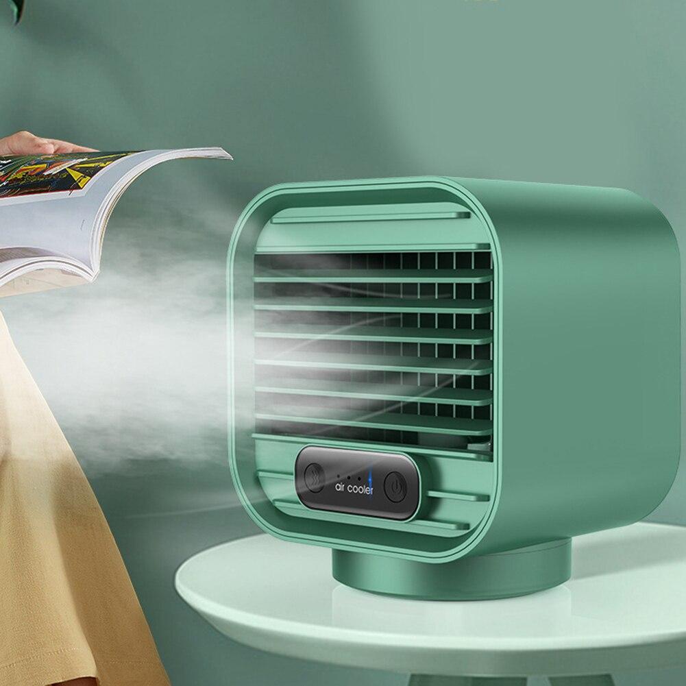 صامت نانو رذاذ مبرد الهواء المرطب مروحة الصيف مروحة مكتب الشخصية