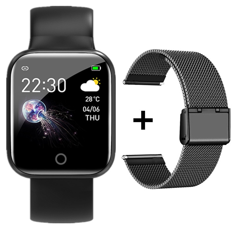 I5 Smart Watch Bluetooth Touch Screen Smartwatch Sport Fitness Waterproof Men Women Watches Blood Pressure Heart Rate Monitor enlarge