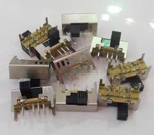 10Pcs x Panel PCB 8 Pin 3 Position 2P3T DP3T Rutsche Schalter Seite Knopf 0,5 EINE 50V DC SK23D08-G5 SK23D05