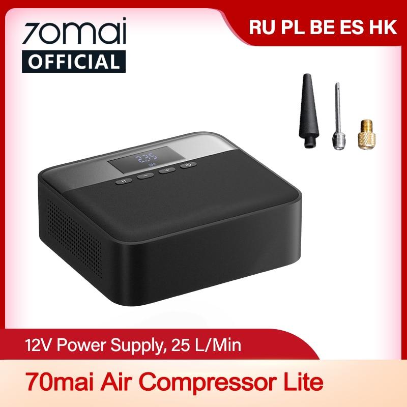 70mai Car Air Compressor Lite 70mai Protable Electric Car Air Pump Mini compressor Tire Inflator Aut