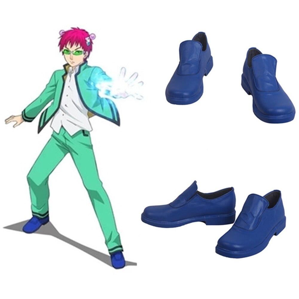 Saiki Kusuo no sai-nan Saiki Kusuo disfraces Saiki Kusuo zapatos Cosplay Halloween personalizado hombres y mujeres zapatos de dibujos animados de anime