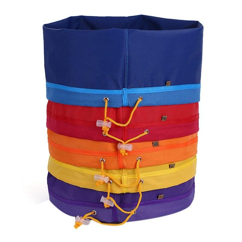 5 قطعة 5 جالون تصفية حقيبة فقاعة حقيبة حديقة تنمو حقيبة التجزئة العشبية الجليد جوهر النازع كيت استخراج أكياس مع الضغط Sn