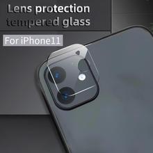 Flexible de fibra de vidrio teléfono trasera de cristal de la Lente de la cámara de película protectora de la cubierta de la película de vidrio Film Protector de pantalla para iPhone 11 Pro max