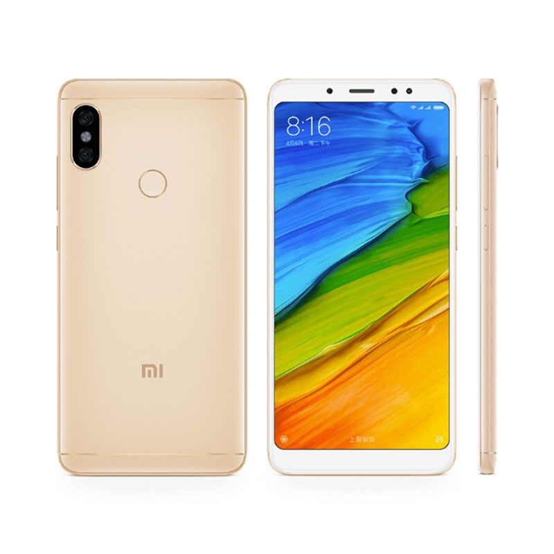 Перейти на Алиэкспресс и купить Xiaomi Redmi Note 5 мобильный телефон 3 ГБ ОЗУ 32 Гб ПЗУ Восьмиядерный процессор Snapdragon 636 12 МП Двойная AI камера 5,99 дюйм18:9 экран отпечаток пальца