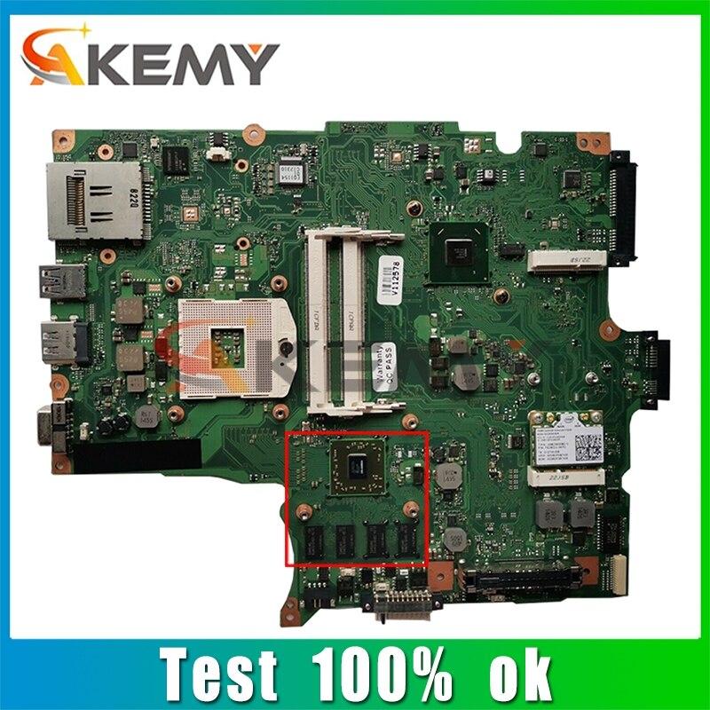 AKEMY لينوفو الأقمار الصناعية R850 الكمبيوتر المحمول اللوحة الأم HM65 216-0809024