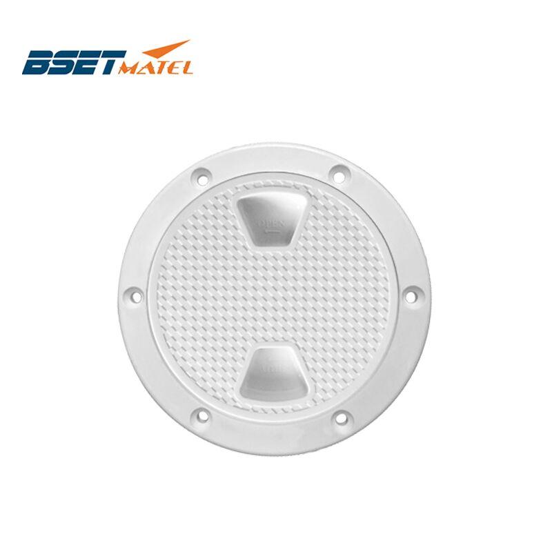 BSET MATEL 4 pulgadas 6 pulgadas 8 pulgadas blanco tornillo fuera inspección cubierta de la placa Marina bost cubierta desmontable de yate RV plástico