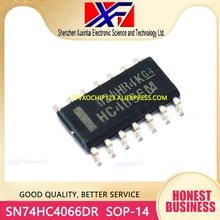 10 teile/los SN74HC4066DR 74HC4066D 74HC4066 4066 IC SWITCH QUAD 1X1 SOP-14