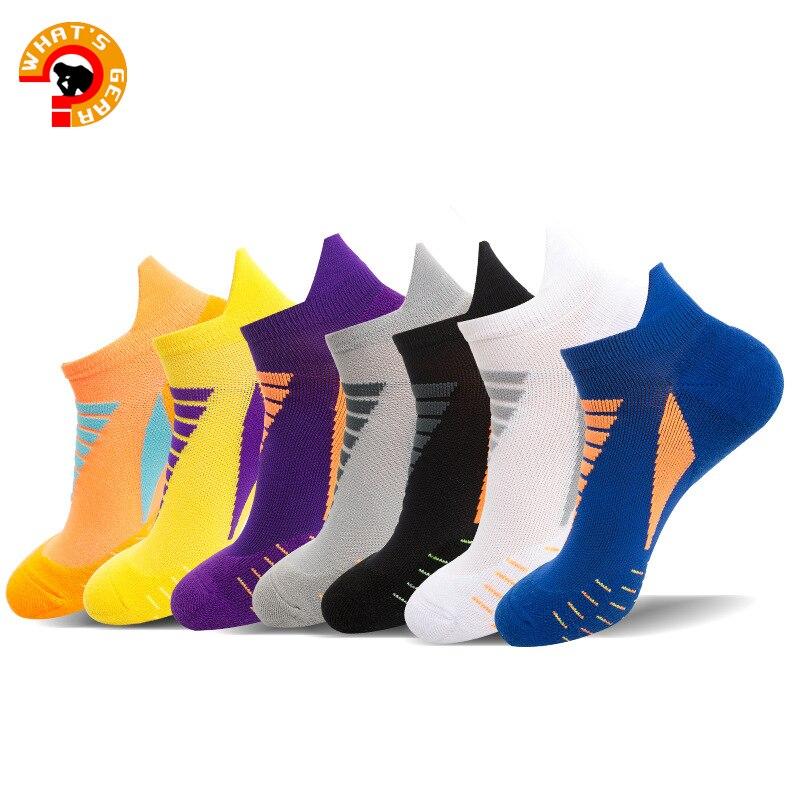 Спортивные носки для бега, низкие спортивные носки с вкладышами, спортивные носки с низким вырезом, носки для фитнеса с манжетами, носки для ...