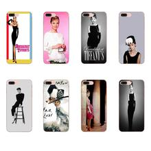 Étui en Silicone Pour HTC Desire 530 626 628 630 816 820 830 Un A9 M7 M8 M9 M10 E9 U11 U12 Vie Audrey Hepburn Porter Tiffany