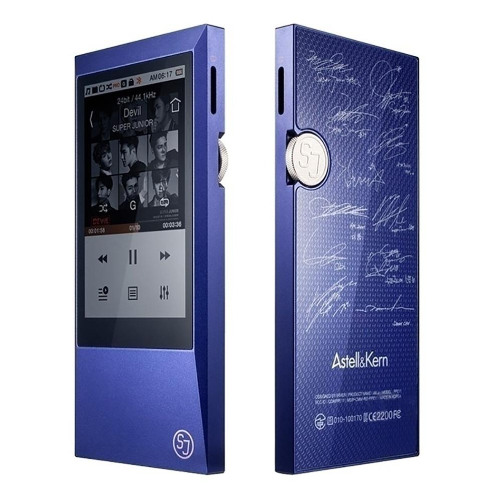 Astell&Kern AK Jr MP3 Player,Portable Hi-Res Audio Player with Bluetooth,Ultra-thin Aluminum Alloy Body,Touch Screen 64GB