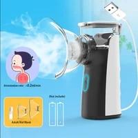 bgmmed mini portable nebulizer handheld inhaler nebulizer for kids adult atomizer nebulizador medical equipment asthma nebulizer