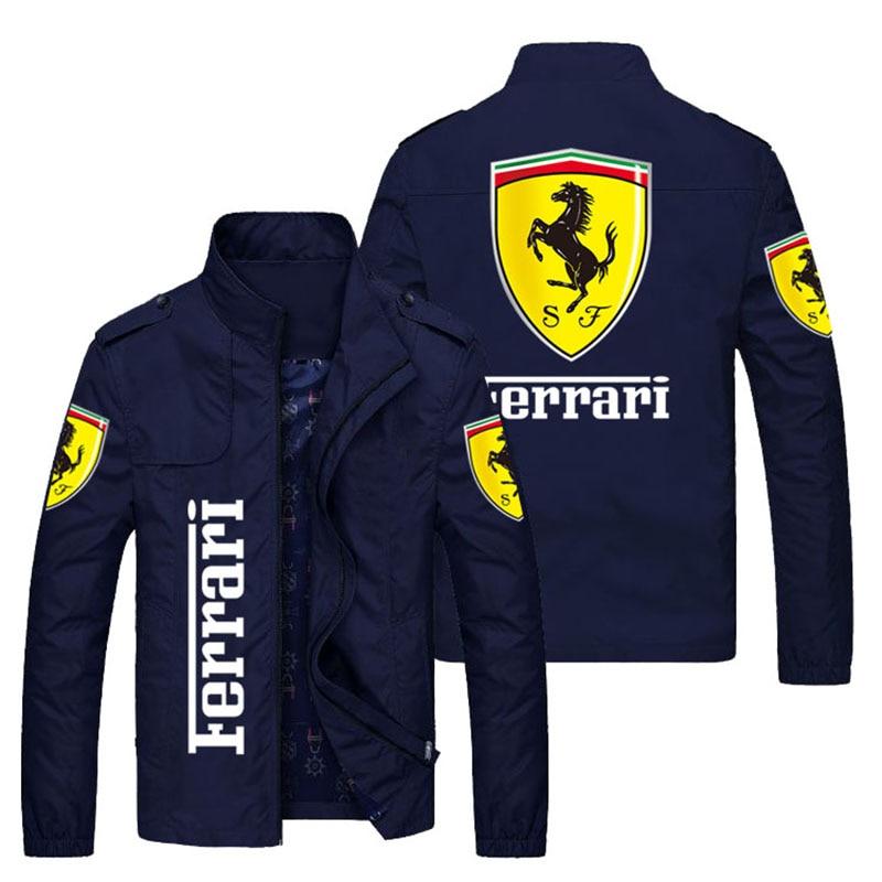 2021 new men's jacket spring and autumn fashion slim coat men's casual sports motorcycle jacket zipper men's jacket size M-5XL