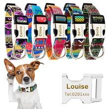 Collier de chien personnalisé à graver gratuitement   Colliers danimaux chat, étiquette didentification nom, collier Chihuahua de chaton, collier pour animaux domestiques, accessoires pour chiens 35