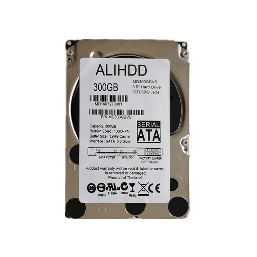 300GB 10K  SAS 6Gb/s 2.5inch Internal Enterprise Hard Drive Server HDD  Warranty 1-year