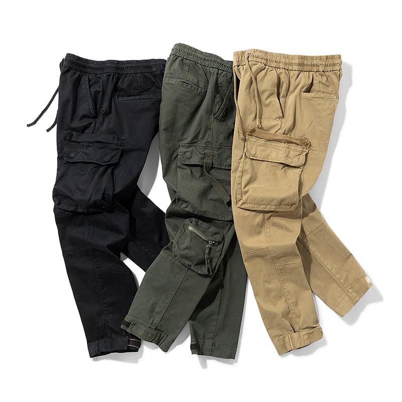 Джоггеры мужские повседневные камуфляжные, Брендовые брюки-карго, мужские брюки в стиле хип-хоп, для скейтборда, джоггеры, модные повседнев...