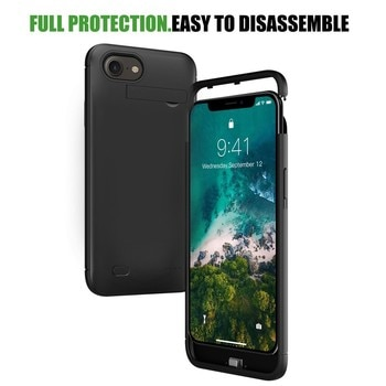 PINZHENG 6200mAh Battery Charger Case For iPhone 4