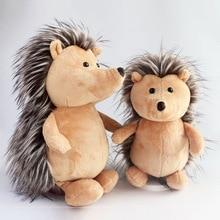 Nowy śliczne jeż pluszowe zabawki lalki miękkie wypełnione pluszowa imitacja jeż wysokiej jakości zabawki dla dzieci przyjaciele urodziny prezent M002