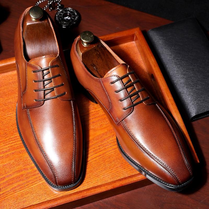 Desai Men Genuine Cow Leather Casual Buffalo Shoe Shoes For Men