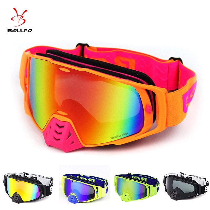 New cylindrical Goggles Motorcycle windbreak goggles mountaineering goggles cross country wind lens helmet goggles