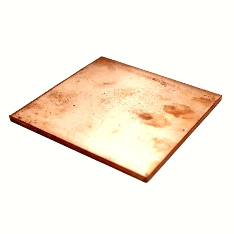 6x100x100mm Copper Sheet/Plate