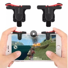 Phone Accessories Gamepad Trigger Fire Button Aim Key Flexible Shooter Controller For PUBG FUT1 Suit