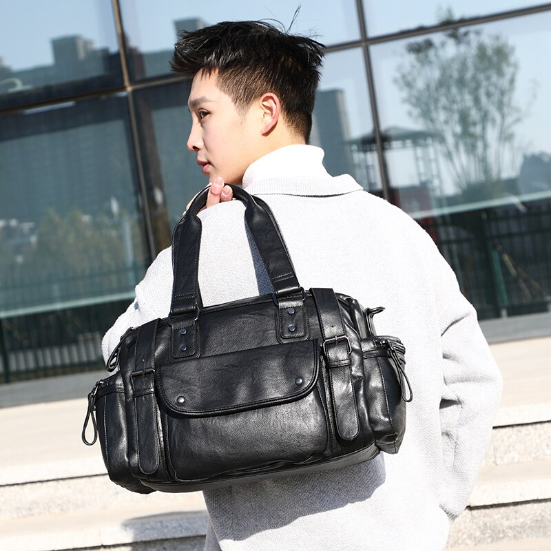 YILIAN Traveling bag women's large capacity men's fitness bag dry and wet separate shoe position single shoulder cross-body bag